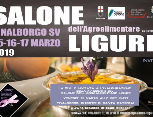 Marzo, il mese del Salone dell'Agroalimentare Ligure